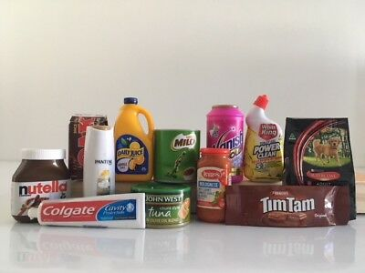 Coles Little Shop Mini Collectables - Finish off your collection here!