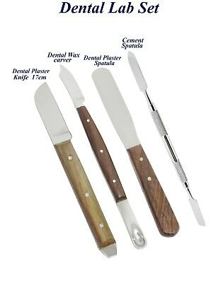 Laboratory Technician Tools Dental Plaster Knife Wax Alginate Mixing Spatula New