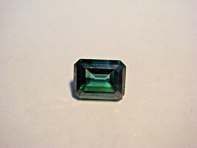 Mystic Green Topaz Emerald Rectangular Cut Gemstone 9mm x 7mm 2.8 carat Gem