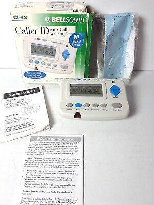 BellSouth Caller ID with Call Waiting CI-42 *no AC Cord