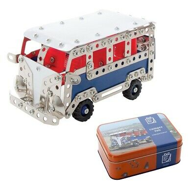 CAMPER VAN IN A TIN - Apples to Pears - VW Combi Fun Construction Build Kit *NEW