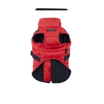 Puppia Mountaineer II Manteau d'Hiver pour Chien Rouge Taille M