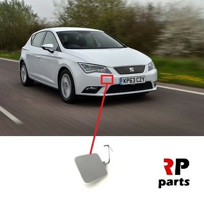 For Seat Leon 2012 - 2018 New Front Bumper Tow Hook Cover Primed 5F0807241