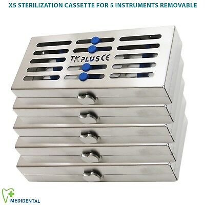 Sterilization Cassettes for 20 ,10, 7 & 5 Removable Instruments + Slim Surgical