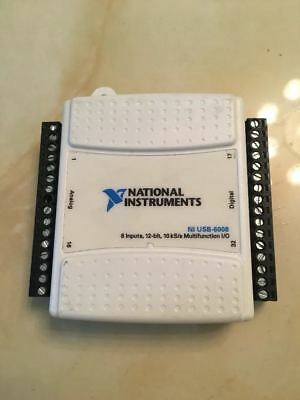 1pc National Instruments USB-6008 Data Acquisition Card NI DAQ, Multifunction