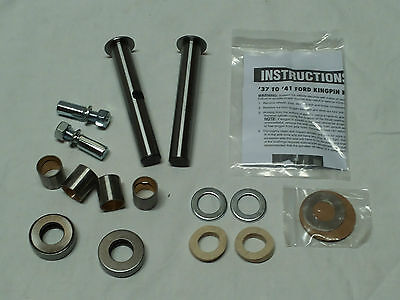 Kingpin Set  f. 1937-41 Ford, Achsschenkelbolzen, Hot Rod, Ratrod, Model A