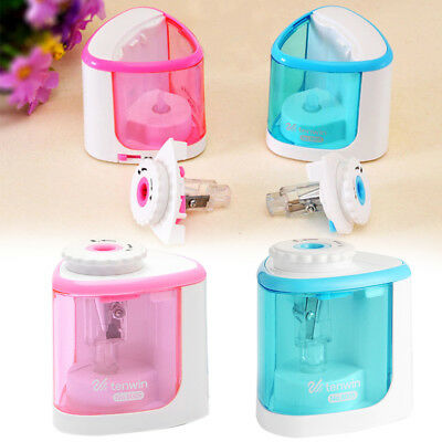 Electric Automatic Pencil Sharpener Touch Switch Home School Office Classroom