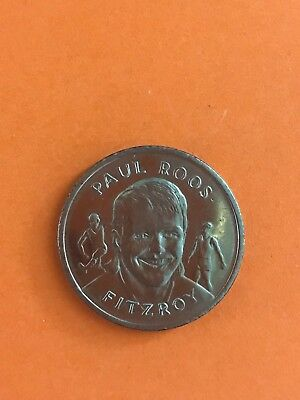1897-1989 Vfl Paul Roos Fitzroy Football Club Afl Commemorative Medal -  Coin