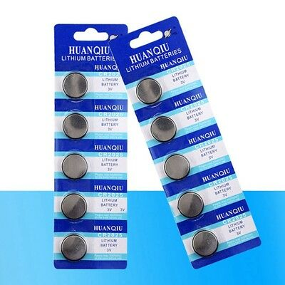 5 Pcs CR2025 BR2025 DL2025 KCR2025 2025 3V Button Coin Cells Battery Bulk