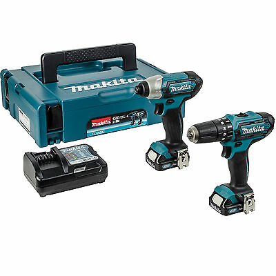 Makita CLX202AJ 10.8-Volt CXT Cordless Kit Impact Driver with 2 2Ah Batteries