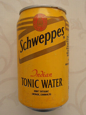 Schweppes Indian Tonic Water Dose  Ungarn (1996) 0,33l Can Hungary