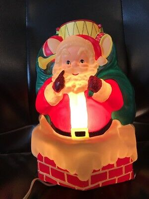 LA Goodman Light Up Santa Bag of Toys