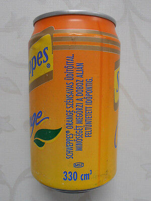 Schweppes Orange Dose  Ungarn (1996) 0,33l Can Hungary