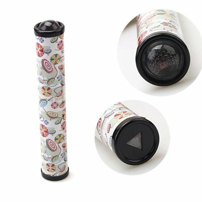 NEW 3D Crystal Kaleidoscope Toy Best Gift For Early Childhood Education White