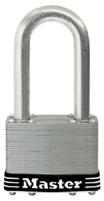"Master Lock 2.5"", Stainless Steel Laminated Padlock w 2.5"" Shackle, 	15SSKADLJHC"