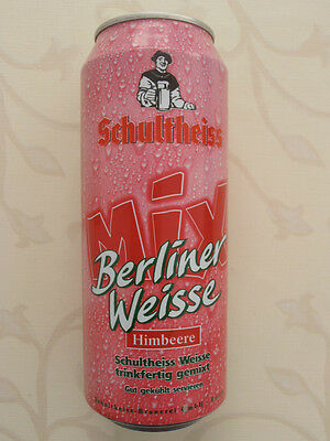 Schultheiss Berliner Weisse Mix Himbeere Dose BRD (1998) 0,5l Beer Can Germany