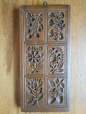 House on the Hill Springerle Cookie Mold #7615 Cassie's Garden FLORAL