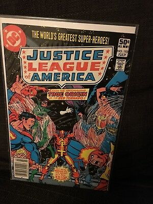 Justice League of America vol 1 Issue 192 DC JLA