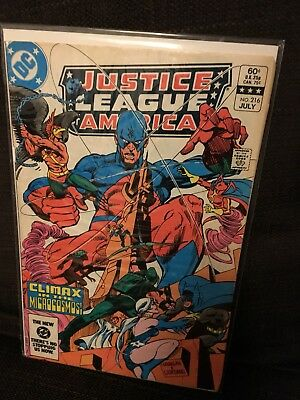 Justice League of America vol 1 Issue 216 DC JLA