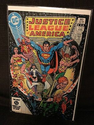 Justice League of America vol 1 Issue 217 DC JLA