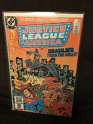 Justice League of America vol 1 Issue 221 DC JLA