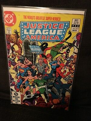 Justice League of America vol 1 Issue 212 DC JLA