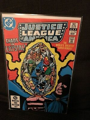 Justice League of America vol 1 Issue 214 DC JLA