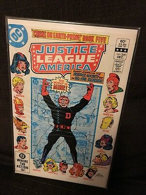 Justice League of America vol 1 Issue 209 DC JLA