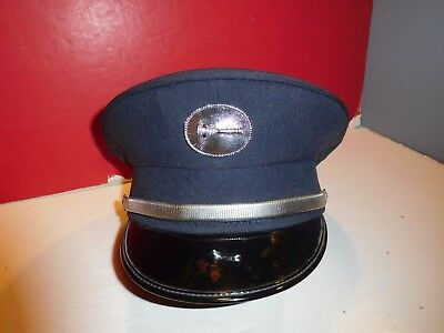 Fire Department Lieutenant Uniform Hat-Clean!