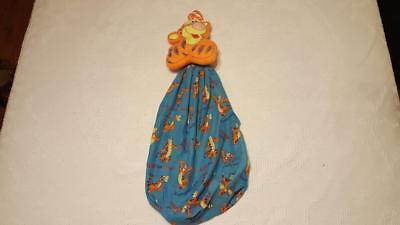 Vintage Disney Tigger Blue Diaper Stacker Laundry Bag Nursery Decor Blue Rare