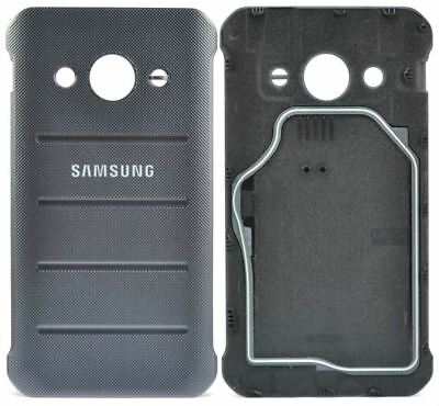 Samsung Galaxy Xcover 3 Battery Cover Back Protective Genuine Replacement Silver