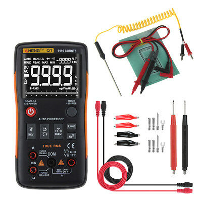 Q1 LCD Digital Multimeter Voltmeter Ammeter AC DC OHM Current Circuit Tester