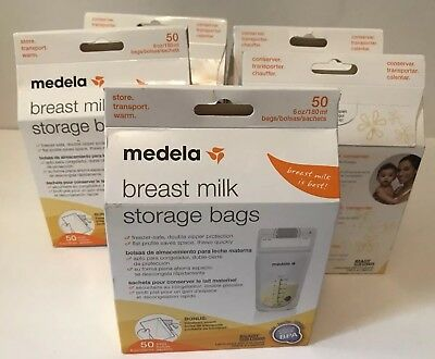 Medela Breast Milk Storage Bags, 100 Count LOT OF 5