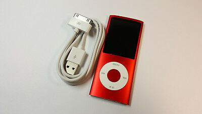 Apple iPod Nano 4th Generation (PRODUCT) RED (8GB), FULLY WORKING