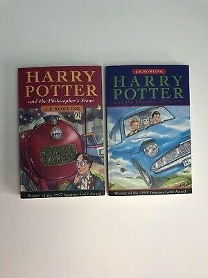 Harry Potter and the Philosopher's Stone 1st/40 and Chamber of Secrets Book
