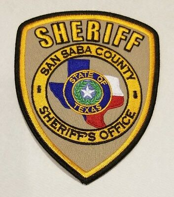 Texas, San Saba County Sheriff's Patch
