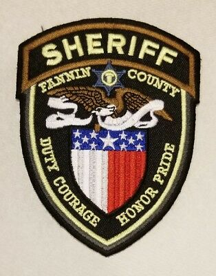 Texas, Fannin County Sheriff's Patch