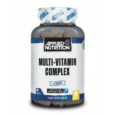 Multi-Vitamin Complex Applied Nutrition Normal Immune Nervous Cognitive Function