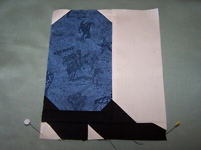 Cowboy Boot Quilt Block - Pattern Only