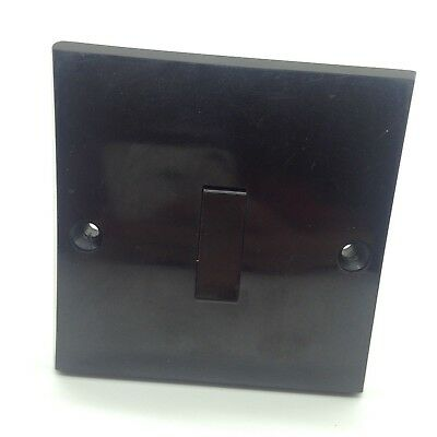 black bakelite light switch 5 amp 250v mid century bakelite volex england deco