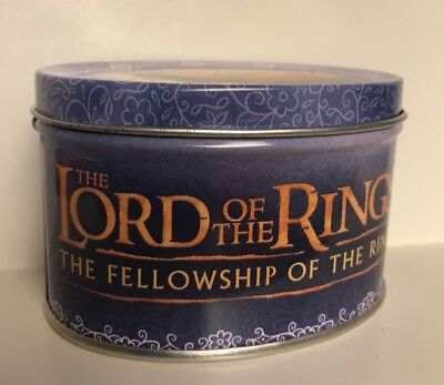 Lord of the Rings Oval Tin Arwen 2001 New Line Cinema 2 1/8 in. x 3 1/8 in.