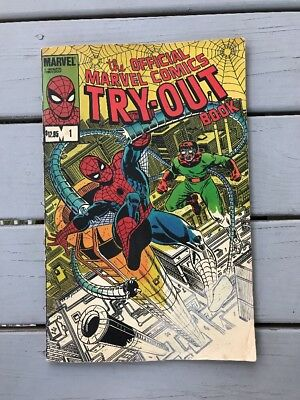 The Official Marvel Try-Out Book #1 (1983, Marvel)Spider-Man