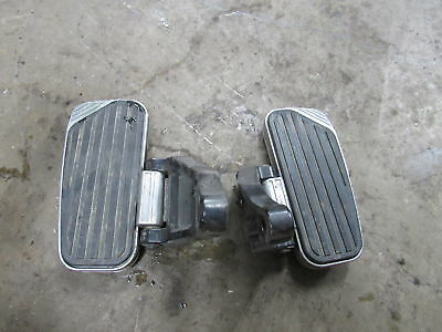 99-01 Kawasaki Vulcan 1500 Vn1500 Nomad Rear Back Passenger Peg Set Pair Floor