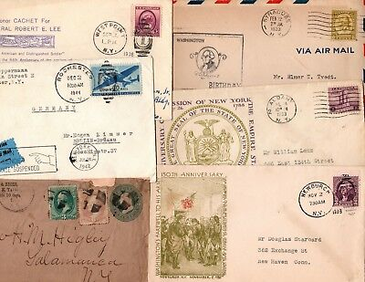 twelve nice new york state covers - see description
