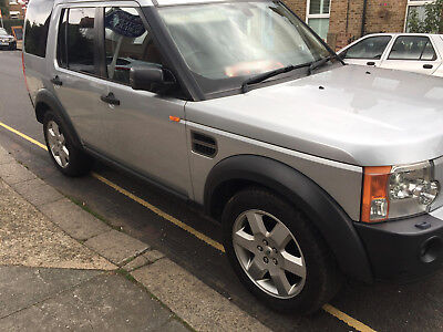 2006 LAND ROVER DISCOVERY 3 DIESEL AUTO SILVER 7 SEATS 4x4