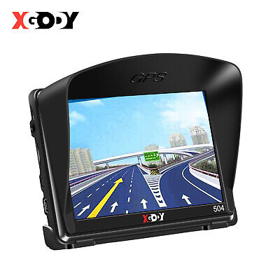 "7"" 8GB Sat Nav 256MB Car HGV GPS Navigation Free POI Maps Speedcam Updates XGODY"