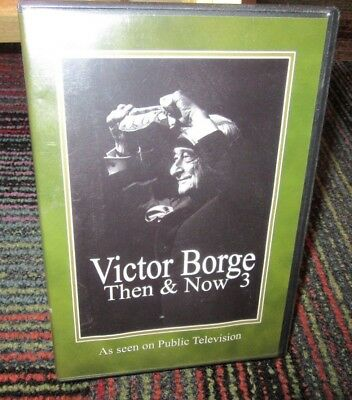 Victor Borge: Then And Now 3 Dvd, Funniest & Memorable Skits, Rare Footage +