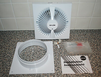 "STEEPLE SF6 150mm 6"" Inch Wall Ceiling Extractor Fan Pull Cord (New / Old Stock)"