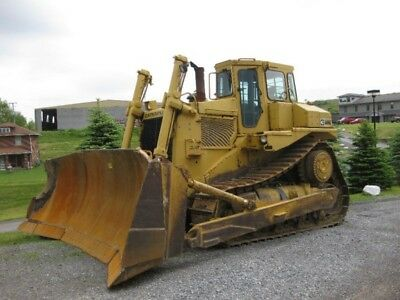 1987 Caterpillar D8L Crawler Dozer / Tractor 36,545 hours in Very Good condition