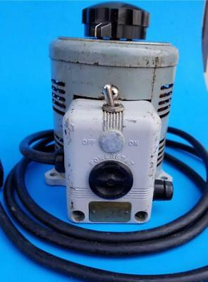 Superior Electric Co Powerstat 116 Variable Output Transformer 7.5A Unusual Plug